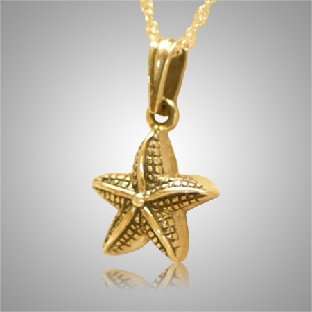Star fish pet cremation keepsake ii for Fish cremation jewelry