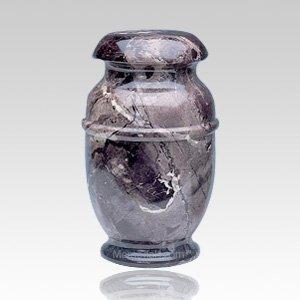 Grey Steel Children Cremation Urn