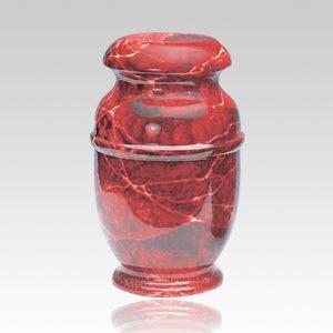 Rouge Steel Children Cremation Urn