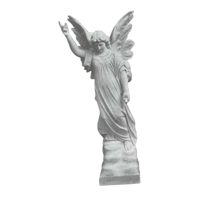 Patron Angel Granite Statue VII