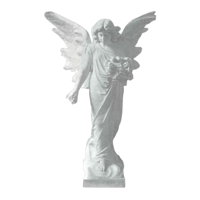 Heavenly Bouquet Granite Statue III