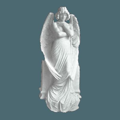 Standing Messenger Granite Statue VIII
