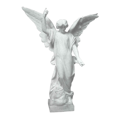 Guardian Messenger Granite Statue