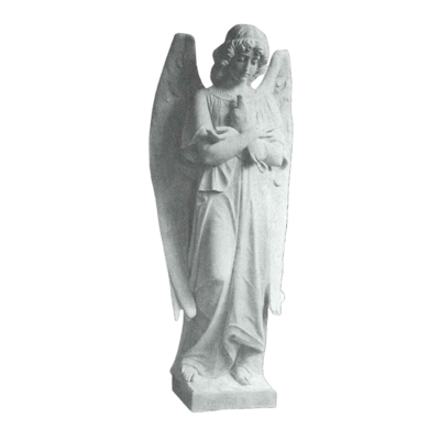 Angelic Prayers Granite Statue VI