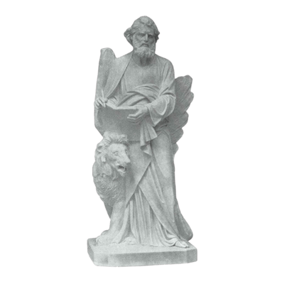 Lion Of Saint Mark Granite Statue IV