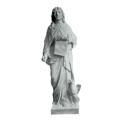 Saint John Granite Statue II