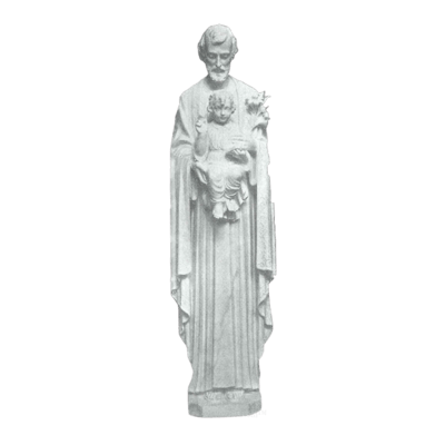 Saint Joseph Granite Statue III