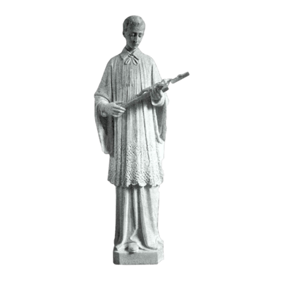Young Saint Louis Granite Statue VIII