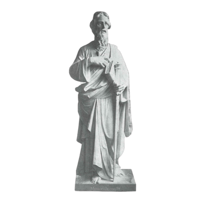 Saint Paul Scripture Granite Statue I