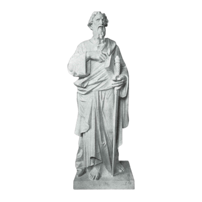 St. Paul Scripture Granite Statue III
