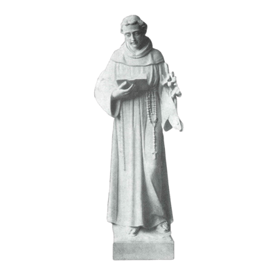 St. Anthony Granite Statue VIII