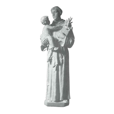 Patron Of Lost Items Granite Statue