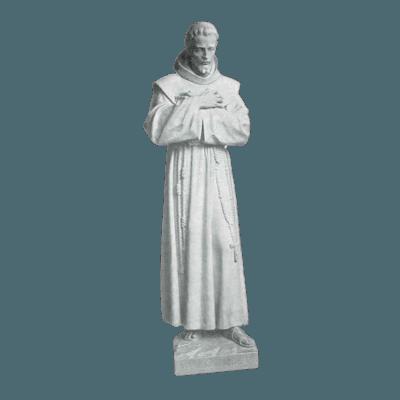 Crossed Arms Granite Statue