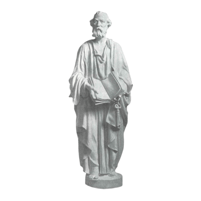 Saint Peter Granite Statue