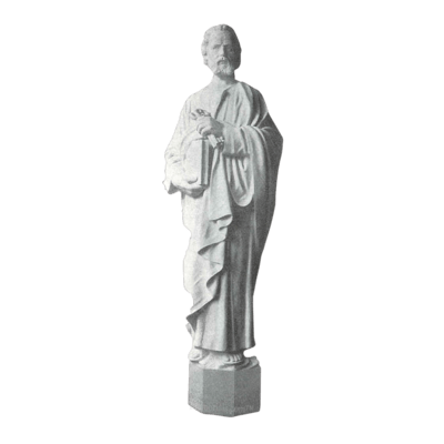 Simon Peter Granite Statue