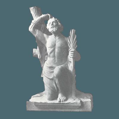 St. Bartholomew Granite Statue