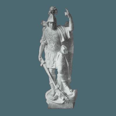 Saint Michael Archangel Granite Statue IV