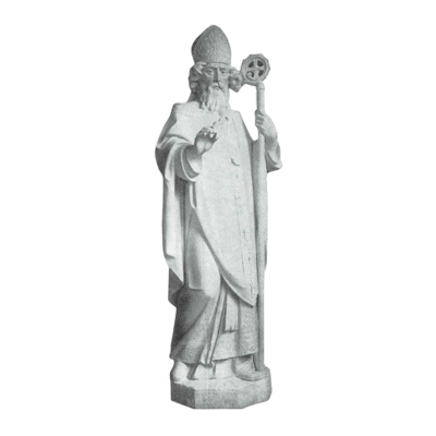 Apostle Of Ireland Granite Statue