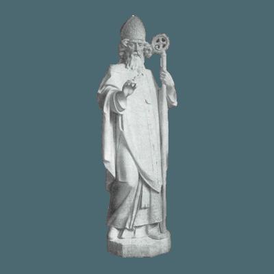 Apostle Of Ireland Granite Statue VII