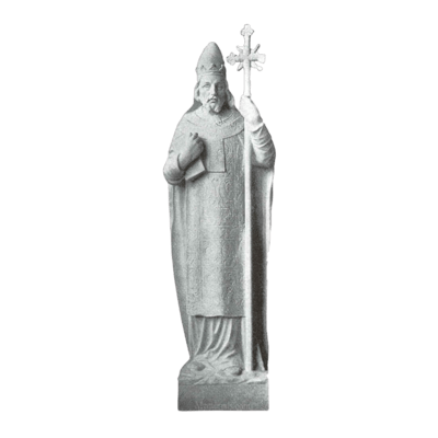 St. Sixtus Granite Statue