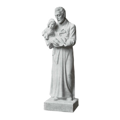 St. Vincent De Paul Granite Statue