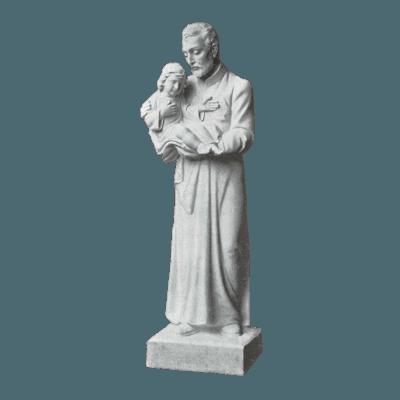 St. Vincent De Paul Granite Statue IV