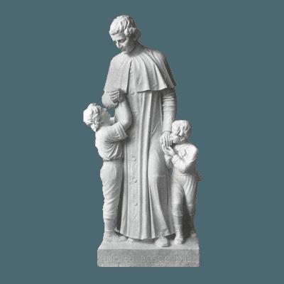St. John Bosco Granite Statue
