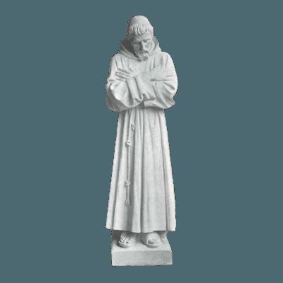 Francesco Granite Statue