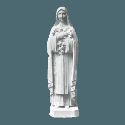 St. Theresa Granite Statue III