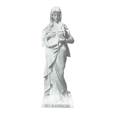 Mary Magdalena Granite Statue