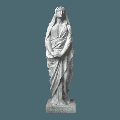 Saint Magdalen Granite Statue