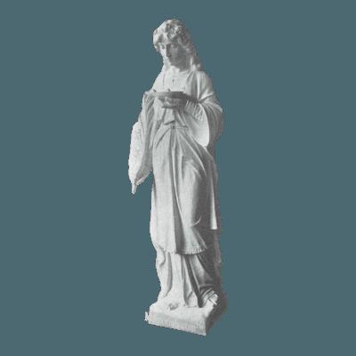 St. Lucy Granite Statue
