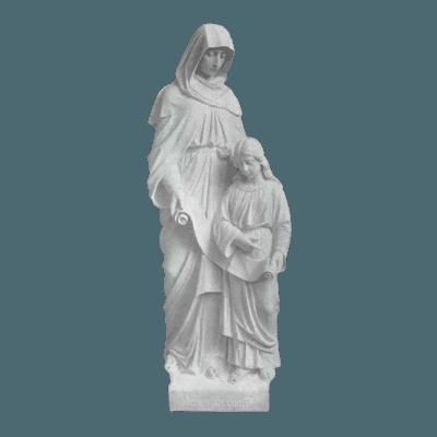 St. Anne Granite Statue