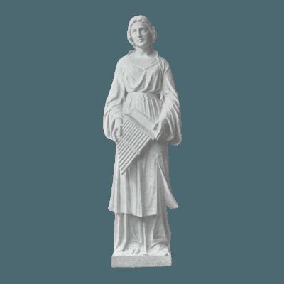 St. Cecilia Granite Statue