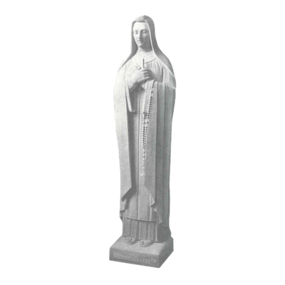St. Theresa Of Avila Granite Statue