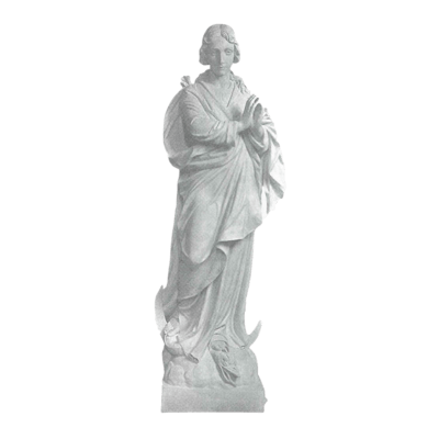 Virgin Birth Marble Statue