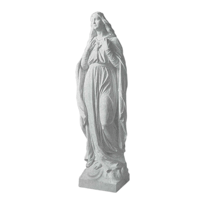 Immaculate Mary Granite Statue