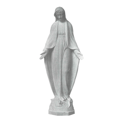 Blessings Granite Statue