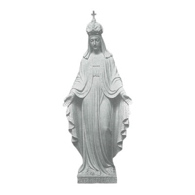 Mother Of Mercy Marble Statue