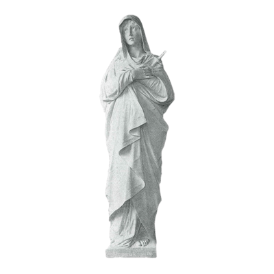 Mother Of Sorrows Granite Statue