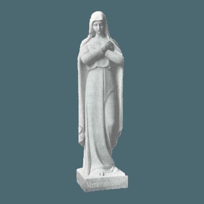 Lady Of Sorrows Granite Statue