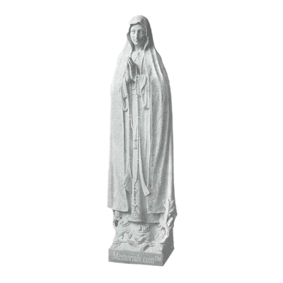 Miracle Of Fatima Marble Statue