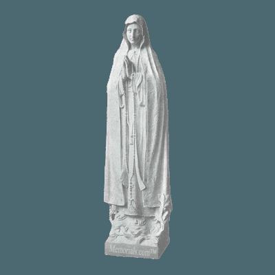 Miracle Of Fatima Granite Statue VII