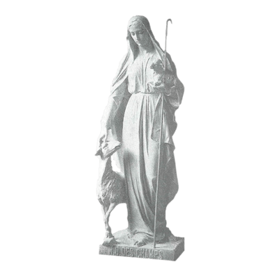 Our Lady Of The Fields Marble Statue