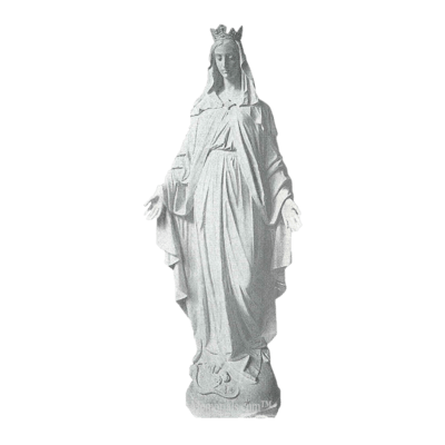 Lady Of Miracles Marble Statue
