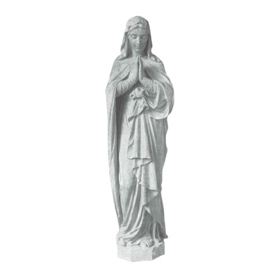 Faithful Prayer Granite Statue