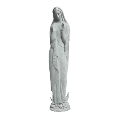Holy Praise Granite Statue