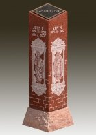 Elegant Cremation Pillar
