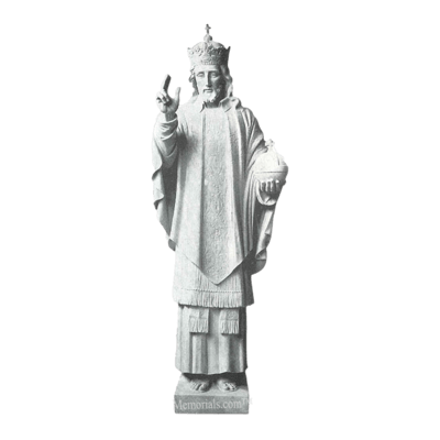 Christ The King Marble Statue