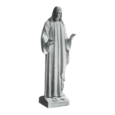 Christ Blessing The Multitude Marble Statue